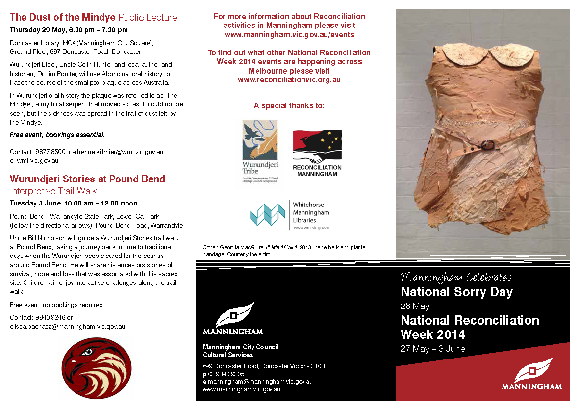 2014 Manningham Reconciliation Week Brochure2_Page_1
